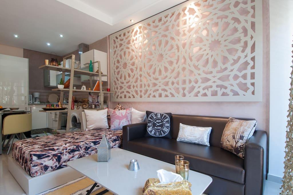 Le Salon Séjour / Living Room