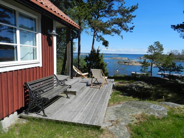 Sommarstuga vid Ålands hav - Väddö - Cabaña