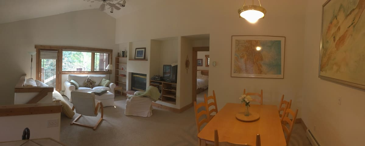 Spacious and Clean townhome in steamboat village.