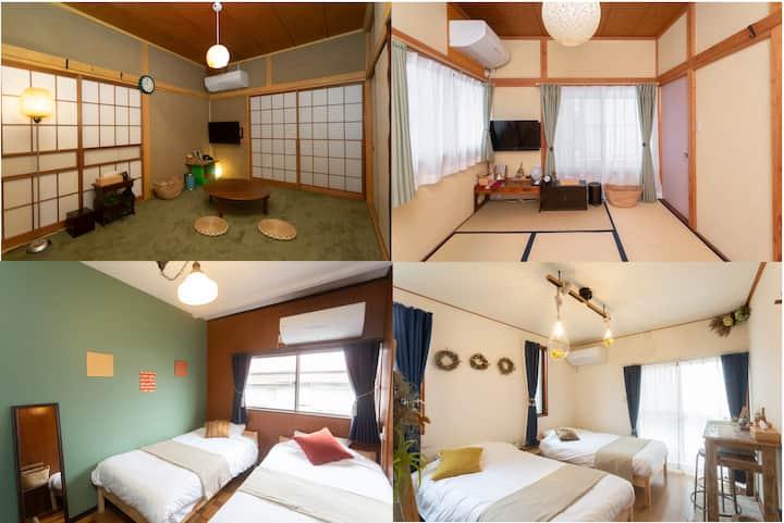 Max 36ppl 5min. from Odawara sta. Tipy records inn