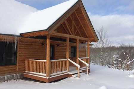 Spectacular Boyne Falls Lodge w/ Views on 20 acres - Boyne Falls - Ház