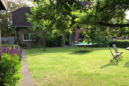Charming spacious house & garden in Hamburg 160m2 - Hamburg - Rumah