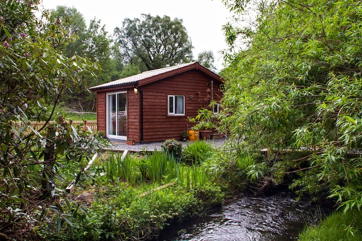 Writer's Cabin at Old Rectory  -  - Knappaghmore - Kabin