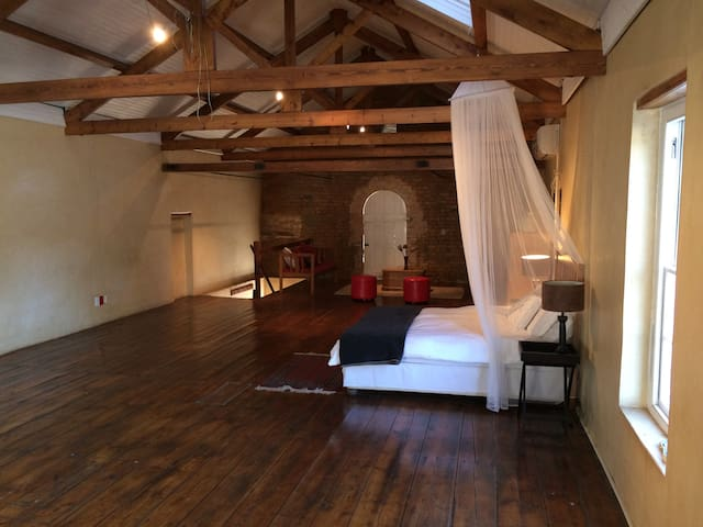 Self-catering historic loft space