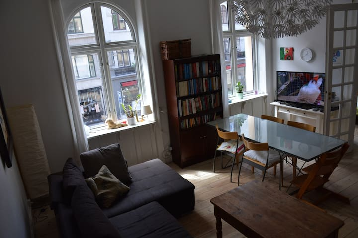 3 room Central Apartment in Copenhagen