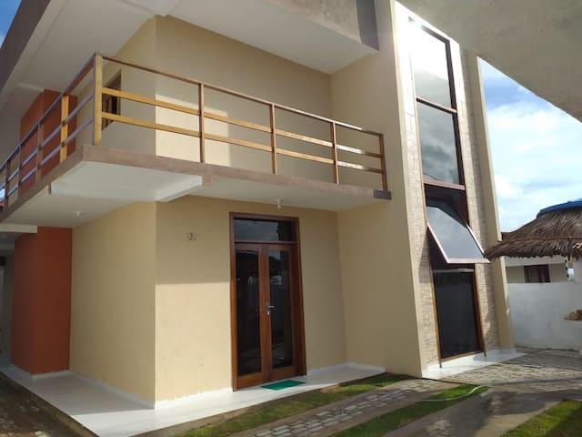Barra de Cunhaú Casa NOVA! Há 10 minutos da praia