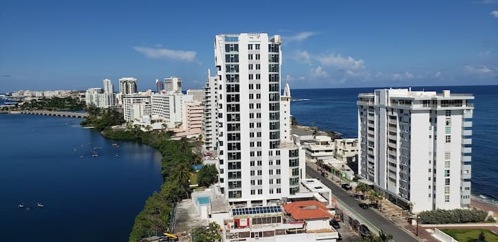 Sleek & Chic VIP Ocean View Condo in Condado