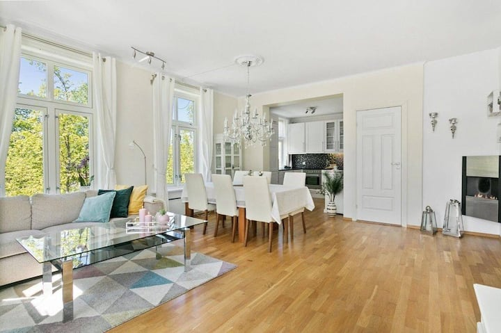 Charming apartment in central-Trondheim