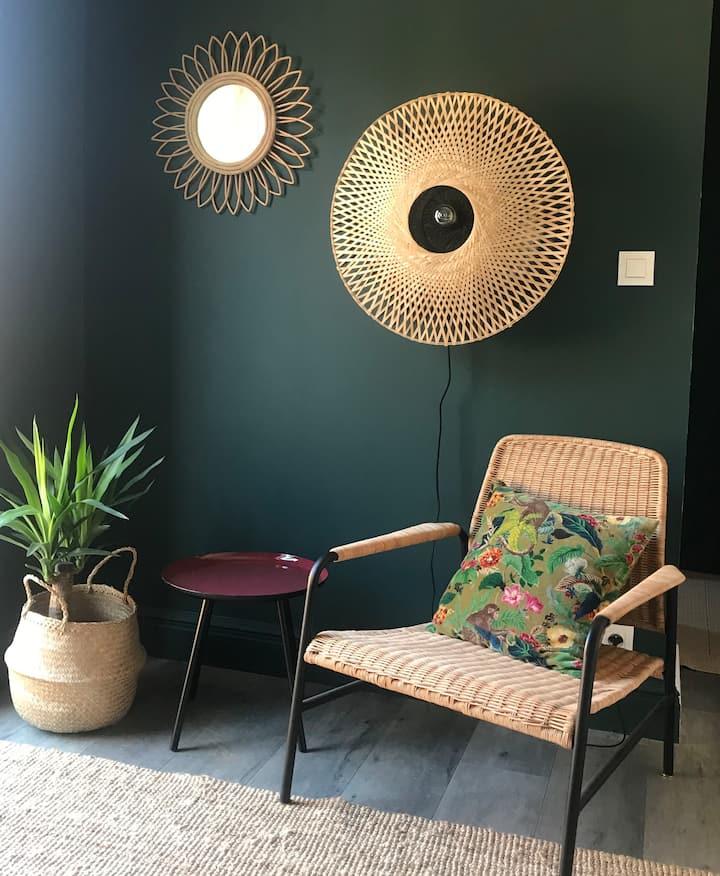 Kool chambre avec terrasse et SPA privatif