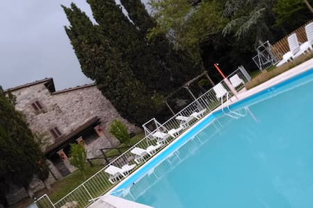 mini independent apartment for 2/3 people - Sansepolcro - Wohnung