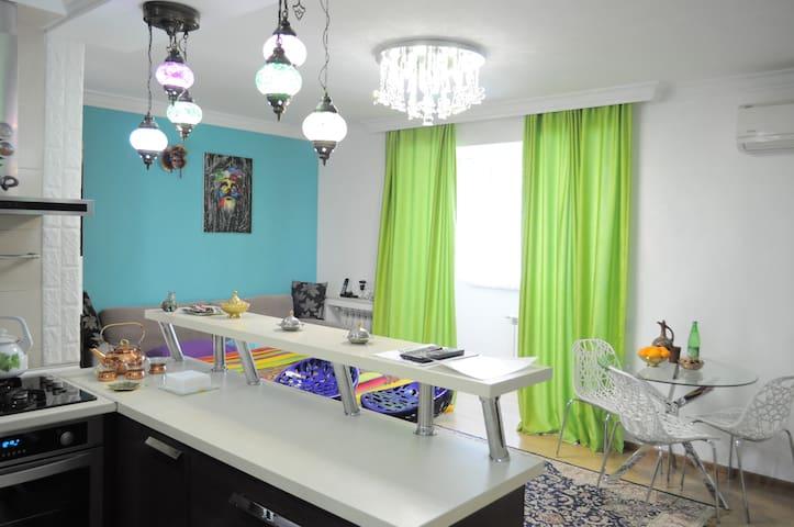 Квартира у Набережной с Трансфером.