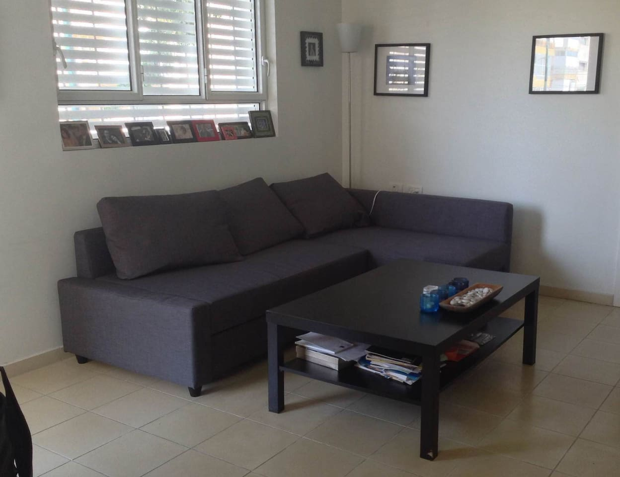 Living Room couch, converts easily into a bed