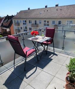 Sonnig, stilvoll und mit Ausblick! - Friedrichshafen - Apartment