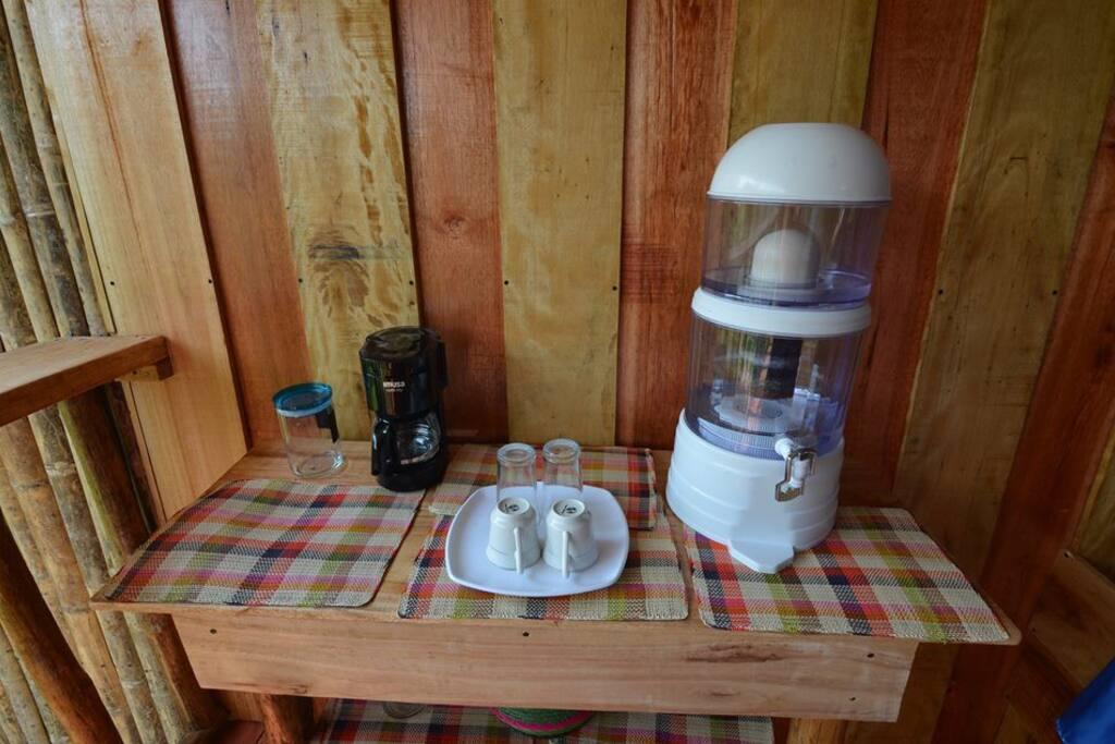 servicios en la cabaña de la Posada Turistica Dantayaco Mocoa