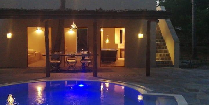 Private villa in a compaund 8 people