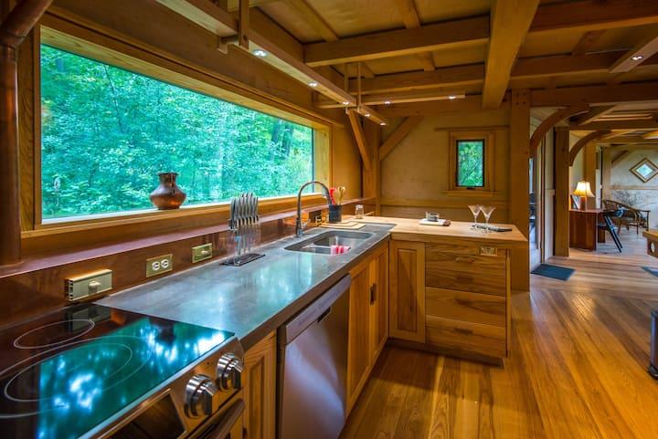 Lakeside Timberframe Cabin