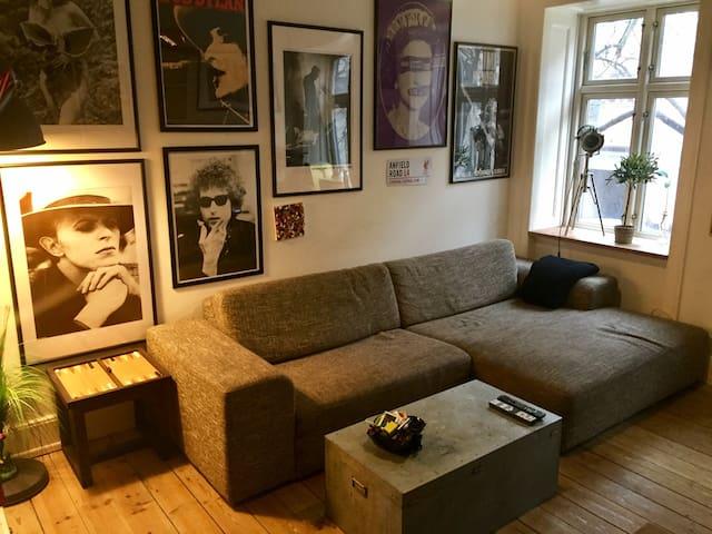 Room for rent in Vesterbro, CPH - Close to Tivoli - Copenhagen - Apartemen
