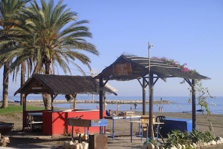 BUHARDILLA-APTO. 1ª LINEA DE PLAYA. - Málaga - Loft