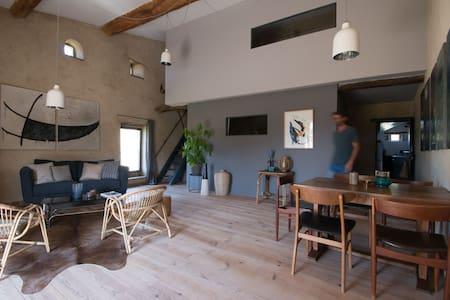 Gites de charme Drôme provençale piscine naturelle - Charols - House