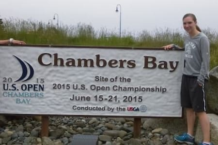 Walk to Chambers  Bay-US Open - University Place