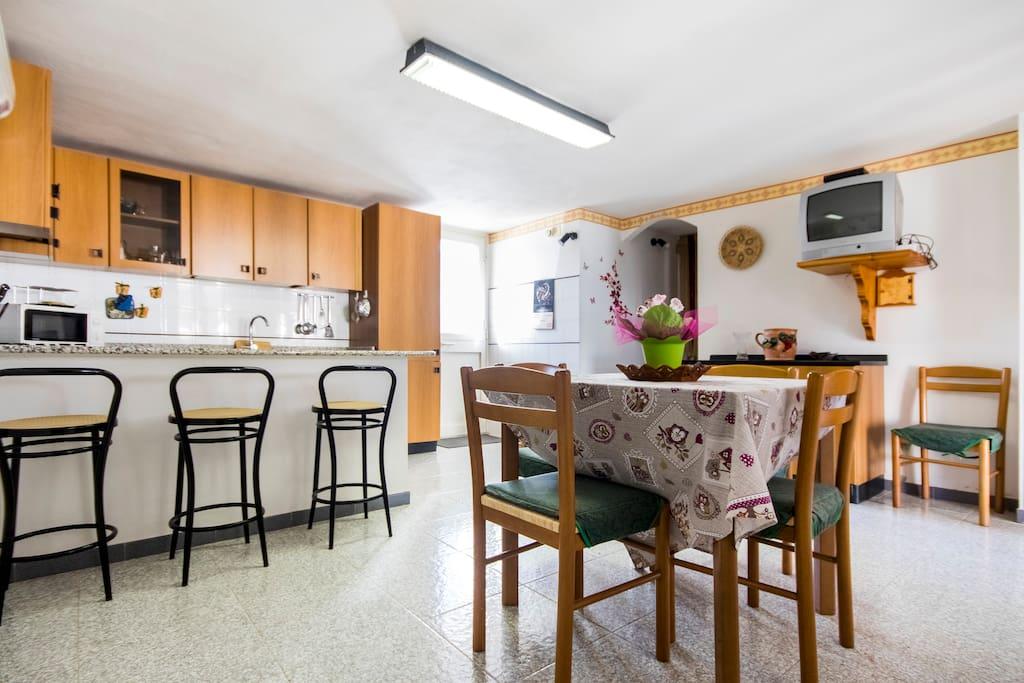 Cucina  casa a piano terra