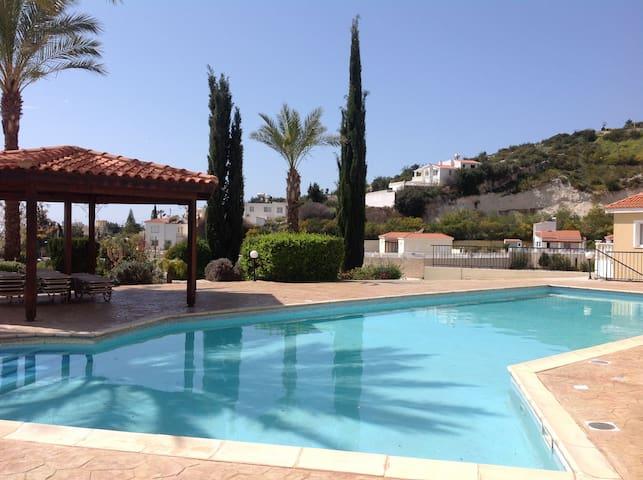 Apartment Peyia Cyprus Wi-Fi  pool - Peyia - Lejlighed