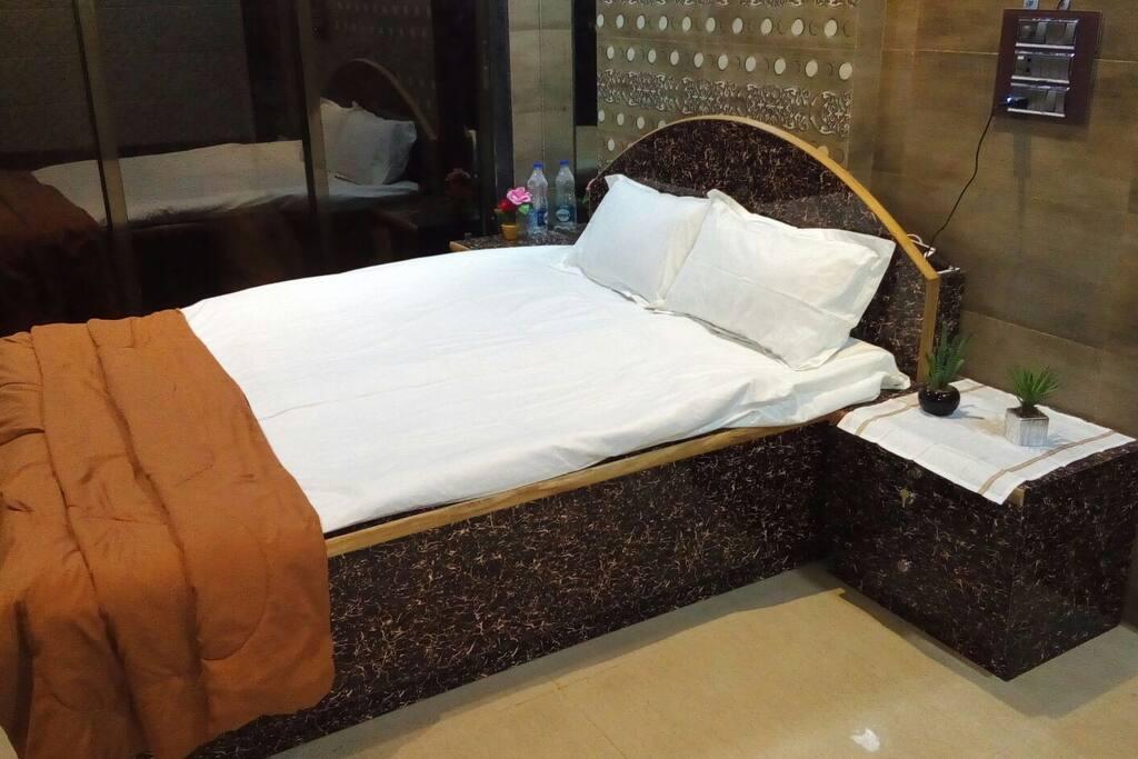 Clean bed for maximum comfort