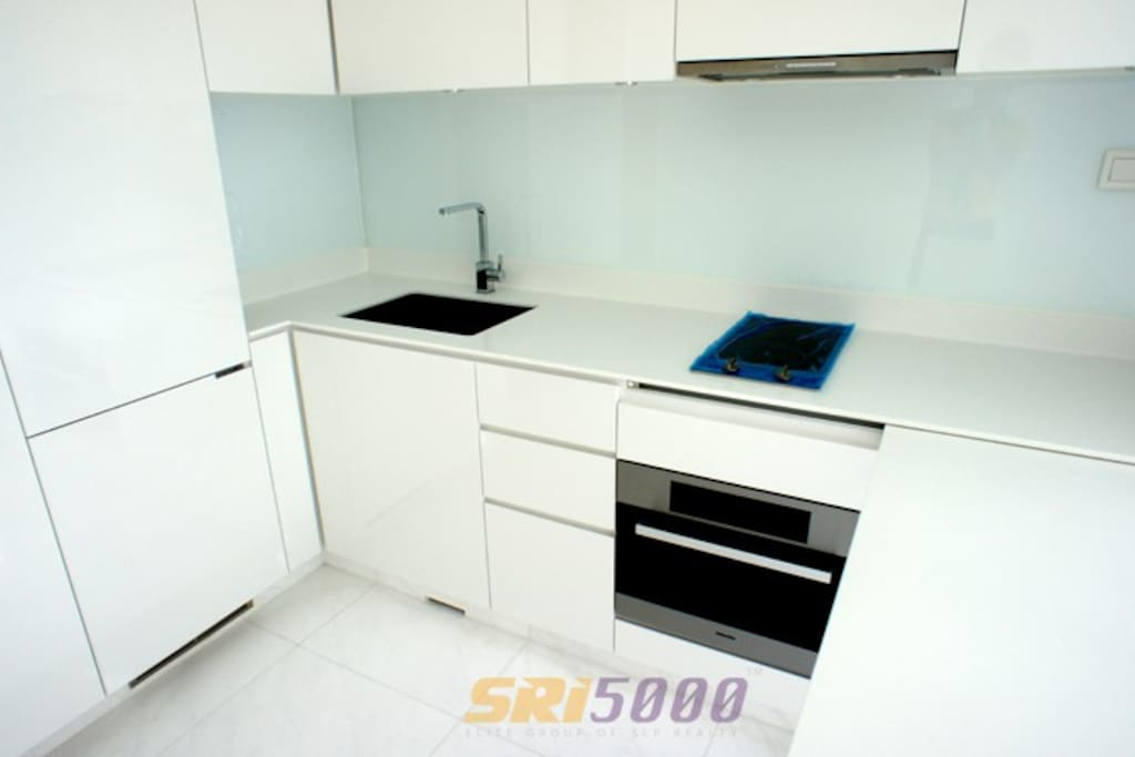 Fully equipped kitchen by Miele