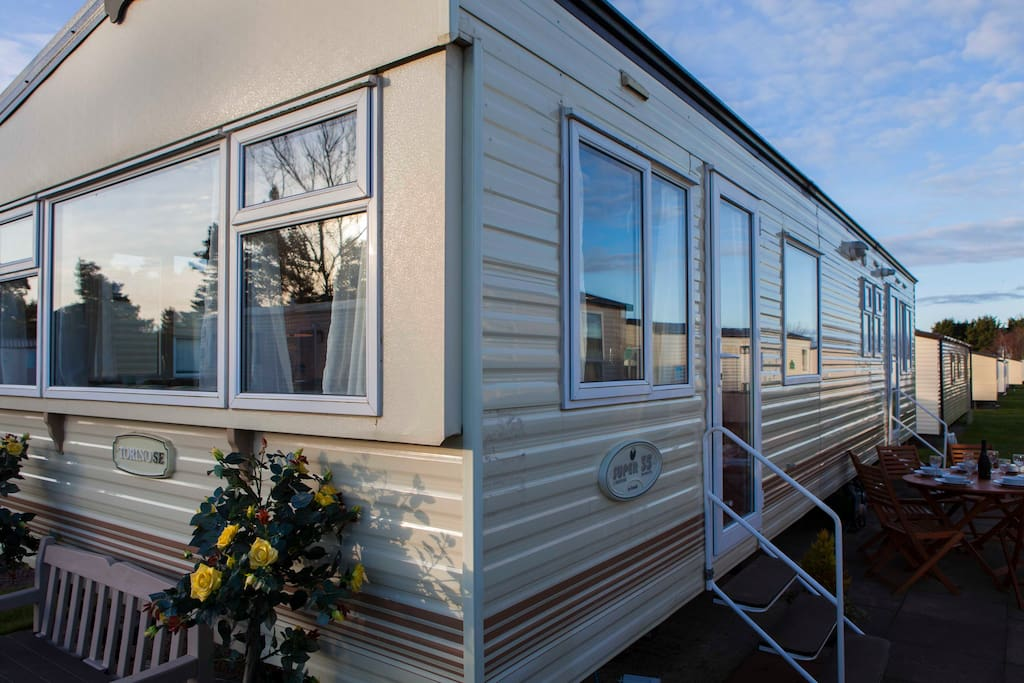 Our new caravan - with central heating!