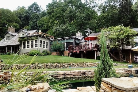 Elegant Historic Cabin, Mountain Meadow, Views!!!! - Bluemont - Dom