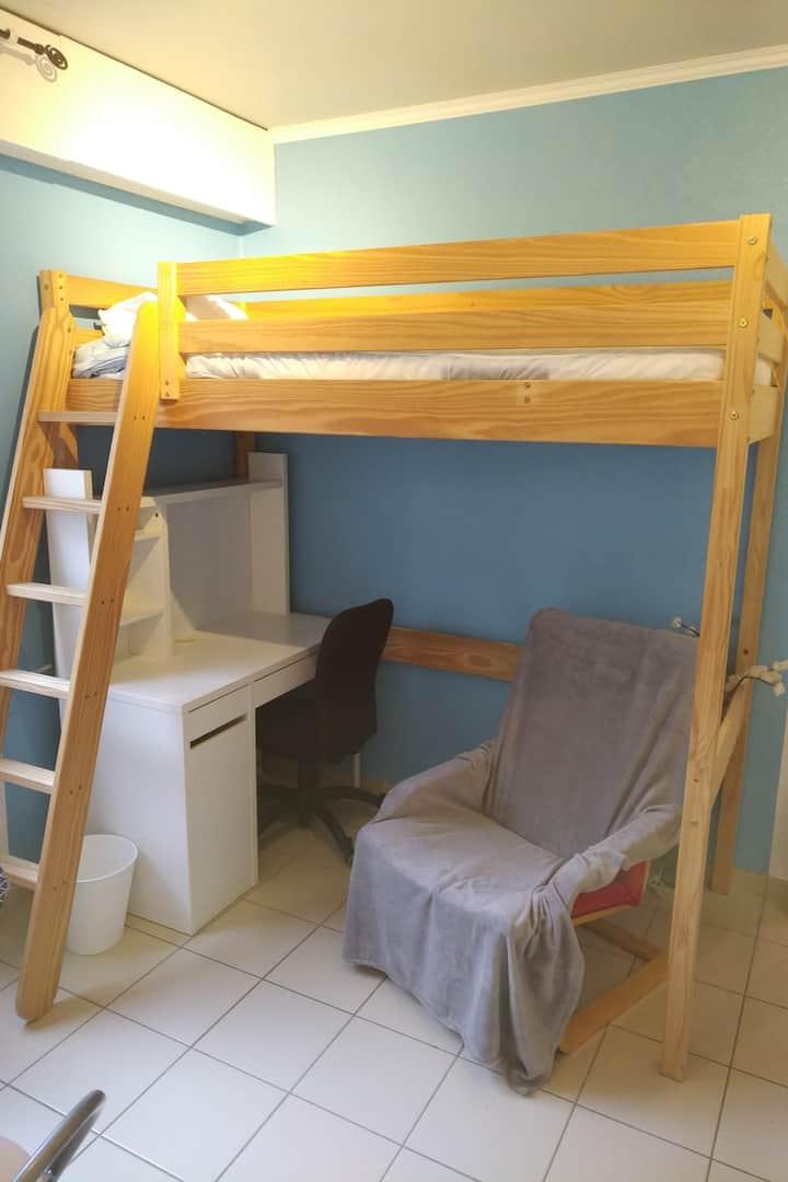 Studio 2 meublé Lyon 5