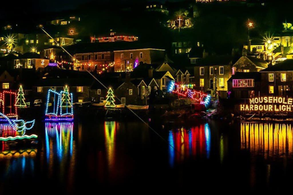 Mousehole is a fantastic place for a spectacular Christmas period break.