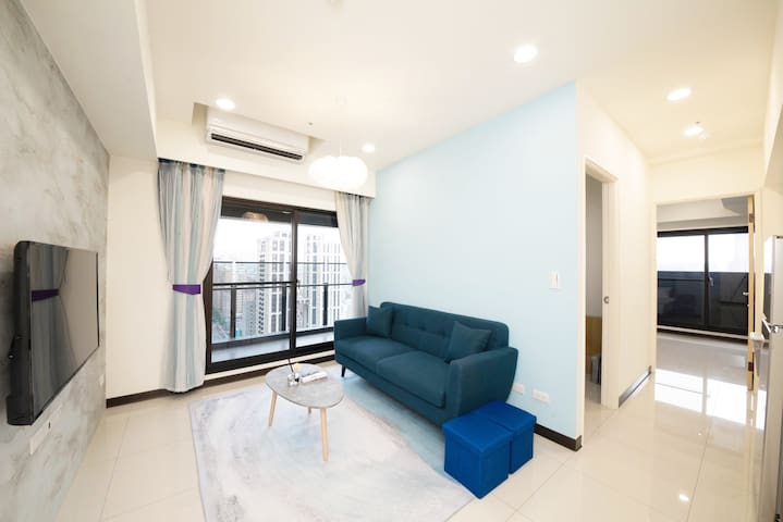 Cultural Center/2 Rooms /Night View /Swimming pool