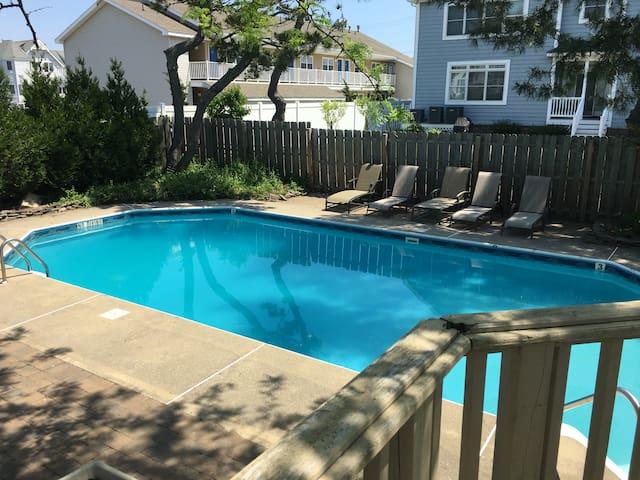 Heated Salt Water Swimming Pool