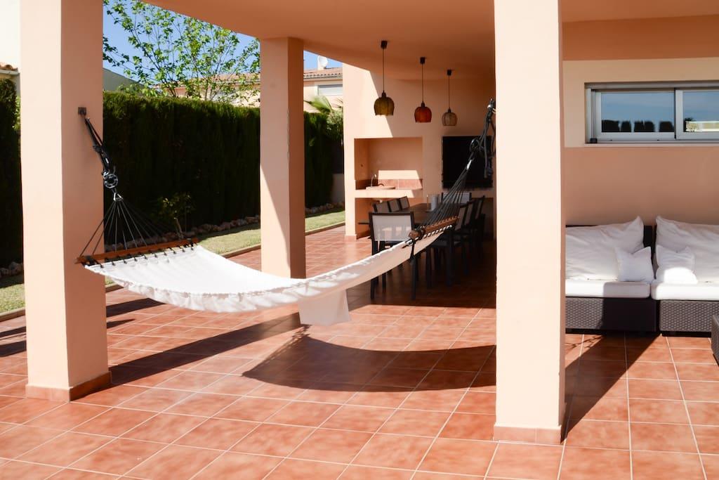 Terrasse (insgesamt ca. 170 qm)