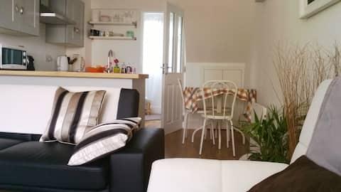 Modern apartment near town centre.