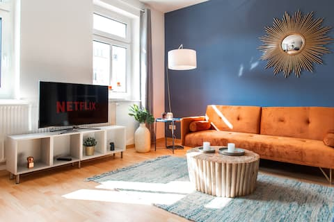 ☆ Stilvolles Apartment☆ Balkon/Netflix&zentrumsnah
