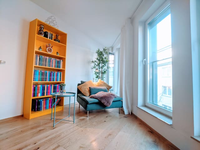 Bright & modern Loft | 10min to City | 3min Fair |