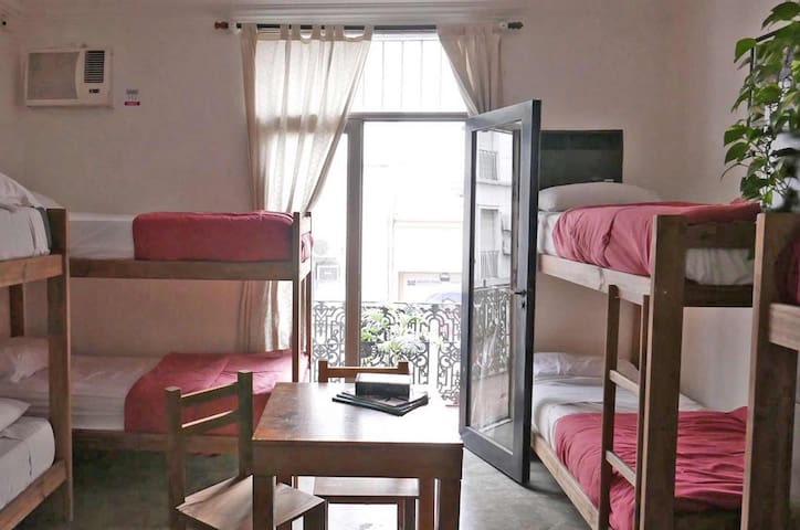 Shared room (8-bed mixed dorms)