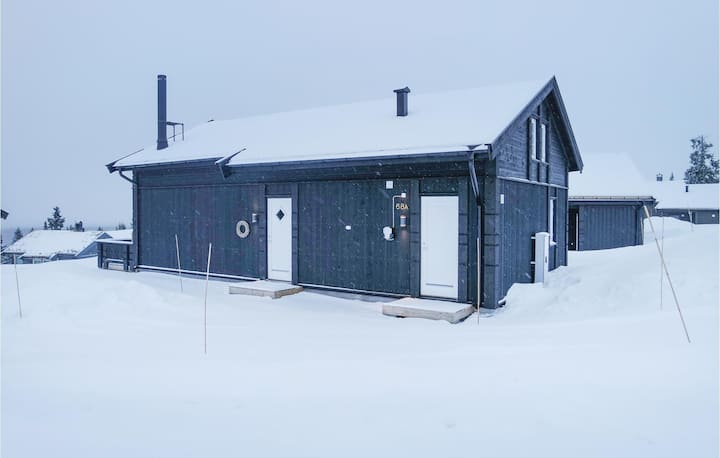 Stunning home in Lillehammer with Sauna, WiFi and 4 Bedrooms