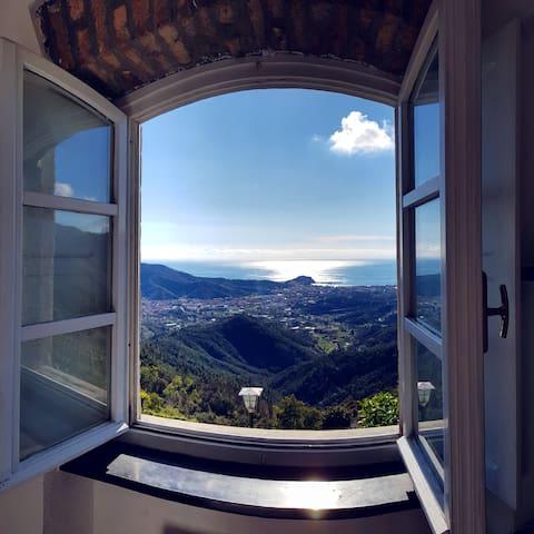 """Poets' House"", Sea View of  Sestri Levante"