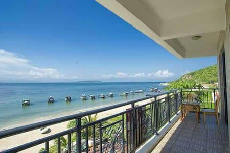 蜈蚑洲岛海域一线海景,两房一厅套房 - Sanya - Casa