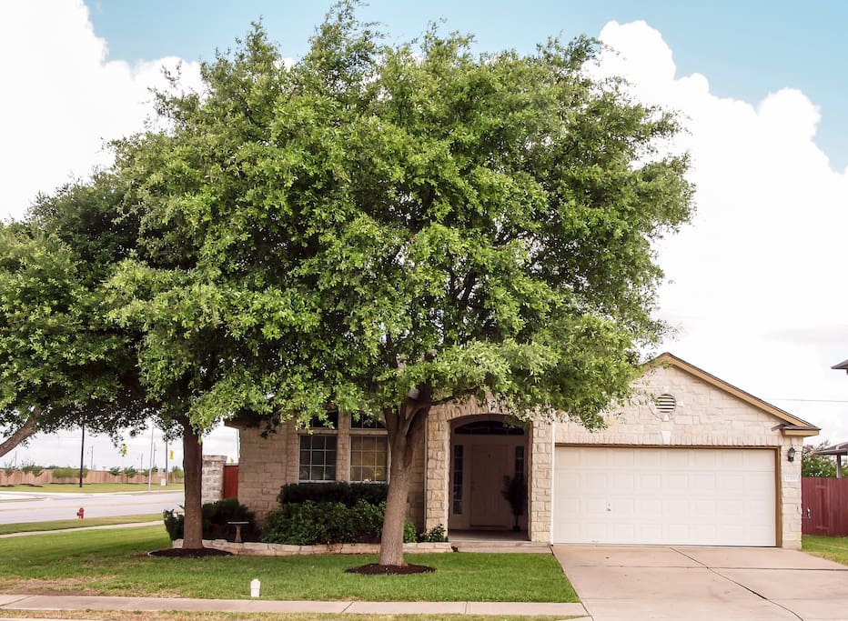 Easily accessible with private driveway.