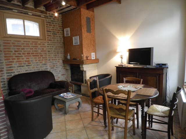 La Maison du jeu de battoir - Saint-Valery-sur-Somme - บ้าน