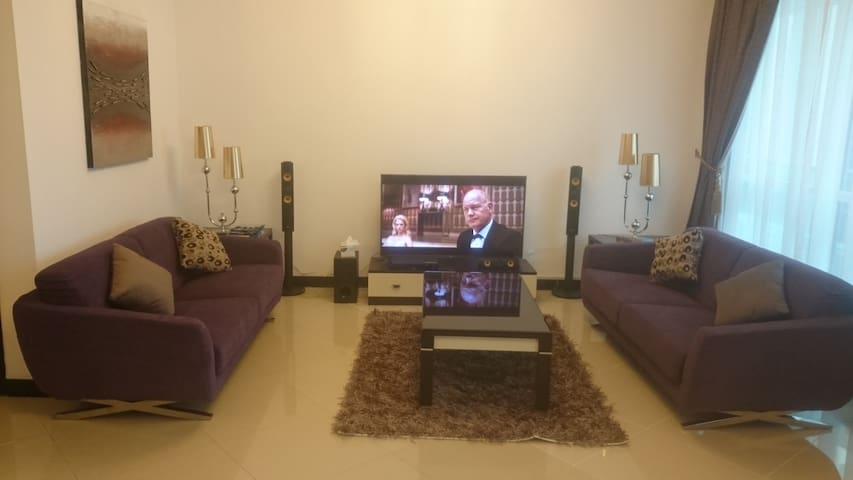 Luxurious, fully furnished 3 bedroom apartments