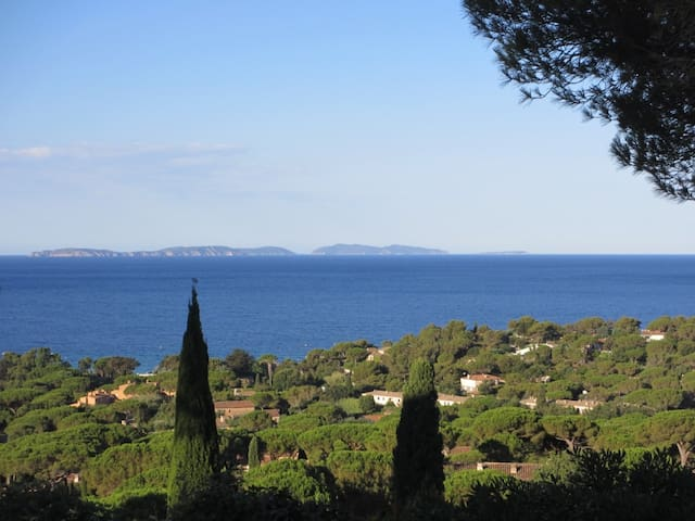 MAS Gigaro sea views, peninsula of St.Tropez - La Croix-Valmer - Hus
