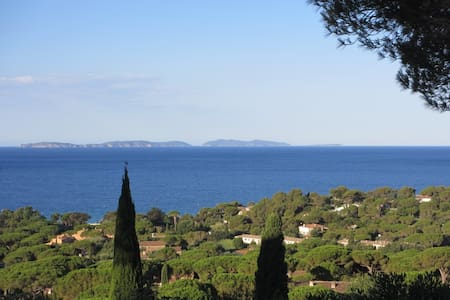 MAS Gigaro sea views, peninsula of St.Tropez - La Croix-Valmer