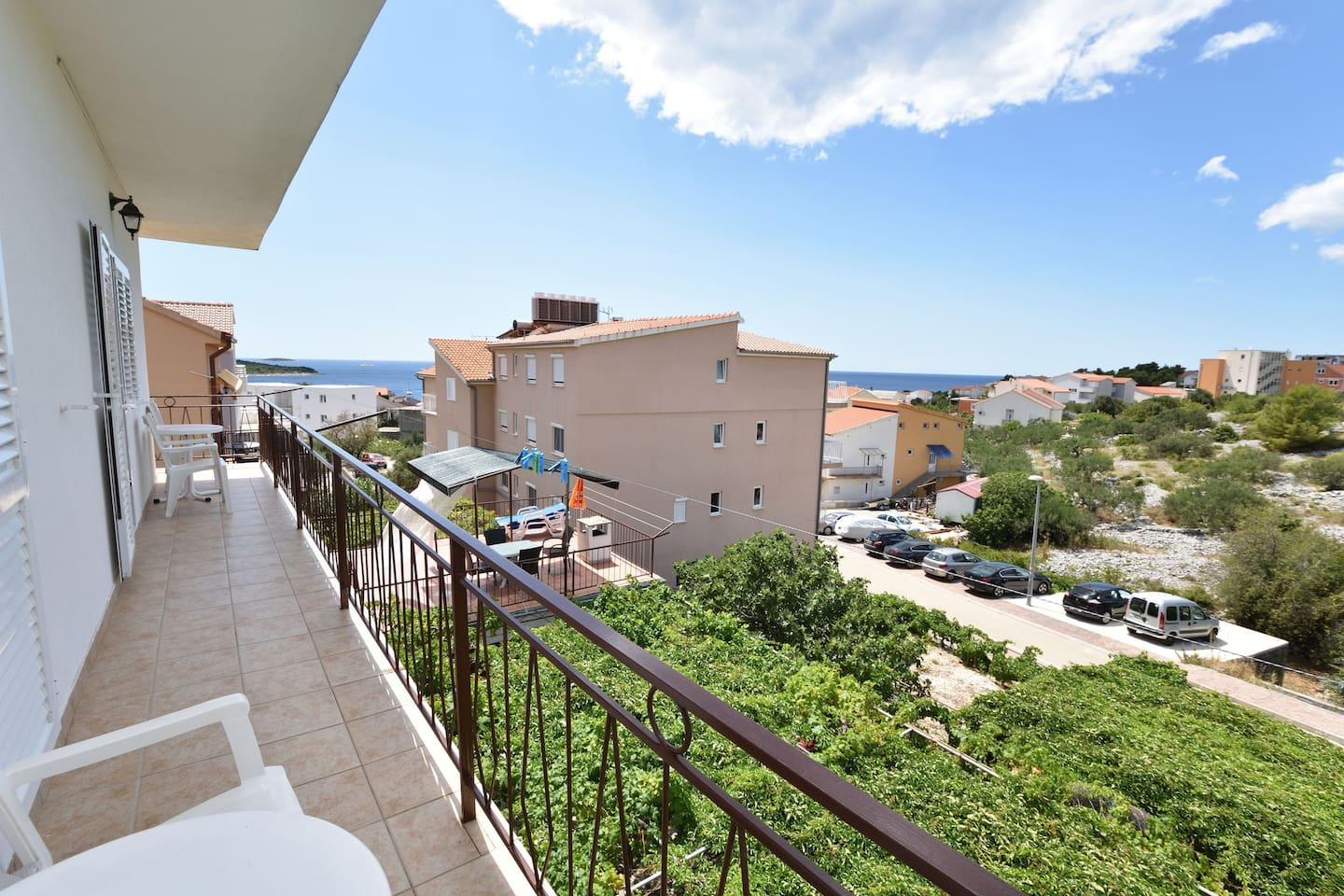 Balcony View from the accommodation
