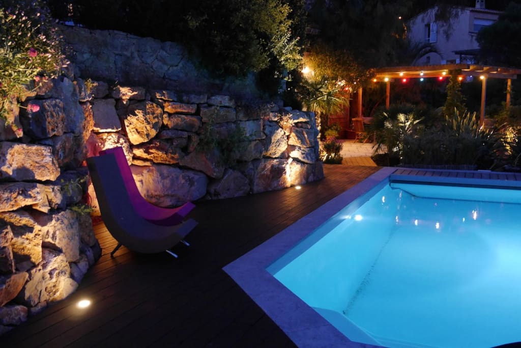 T2 50m2 piscine hy res c te d 39 azur appartements louer for Piscine hyeres