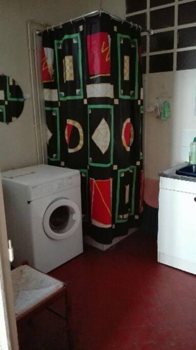 Cuisine- salle de bain